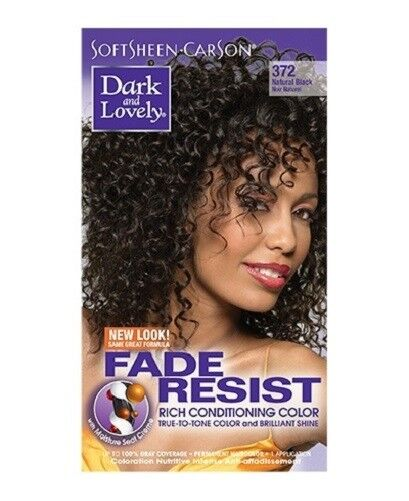 Dark And Lovely Fade Resistant Natural Black