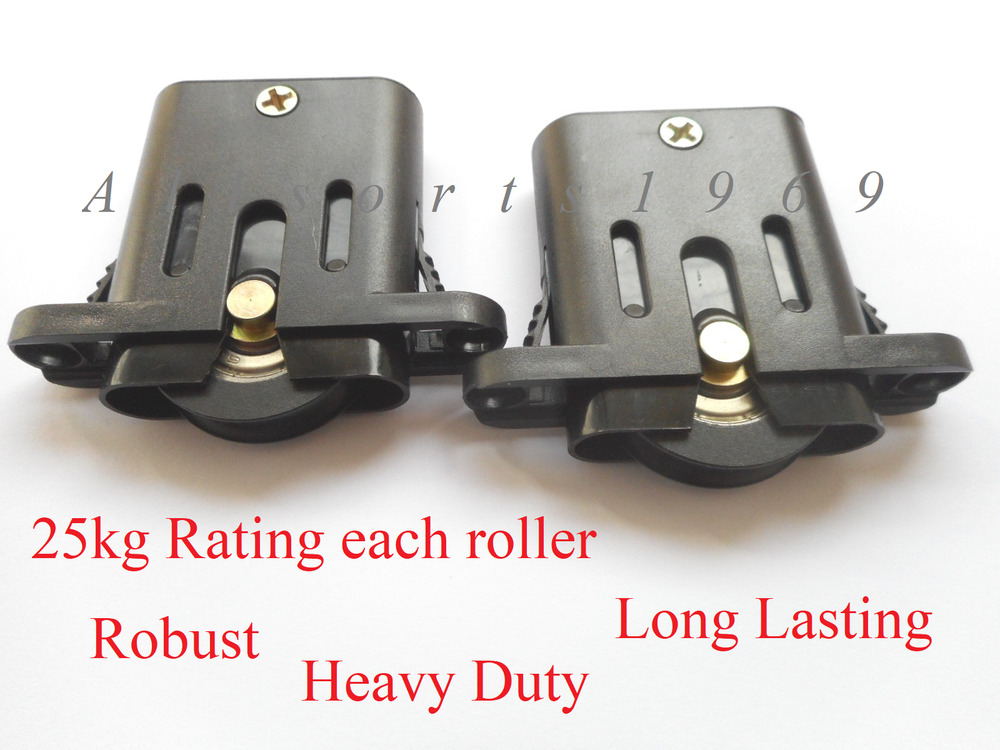 Sliding Security Screen Door Rollers 1 Pair Free