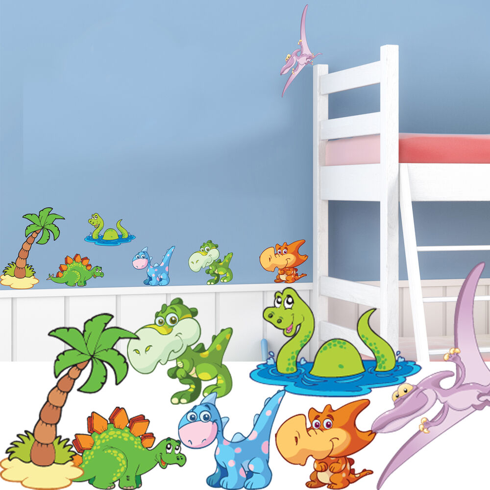wall stickers for kids bedrooms dinosaur nursery wall stickers childrens bedroom decal 20098