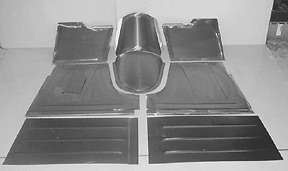 Ford Pickup Floor Pan Floorboard Fits Direct Firewall 1948