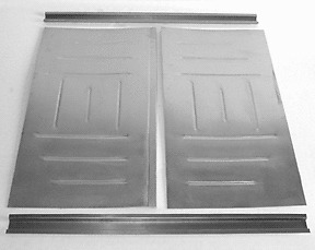 Chevy nomad wagon rear floor pan floorboard 55 56 57 1955 for 1955 chevy floor pan replacement