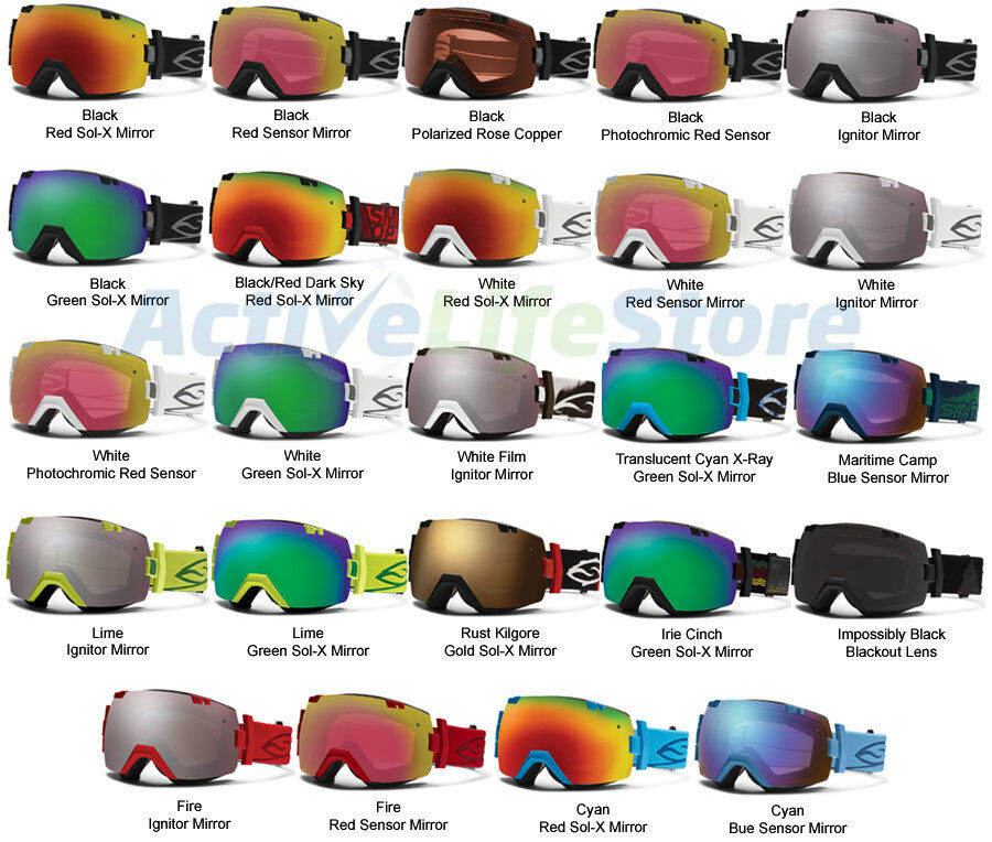 Smith Goggle I Ox Interchangeable Optics W Extra Lens