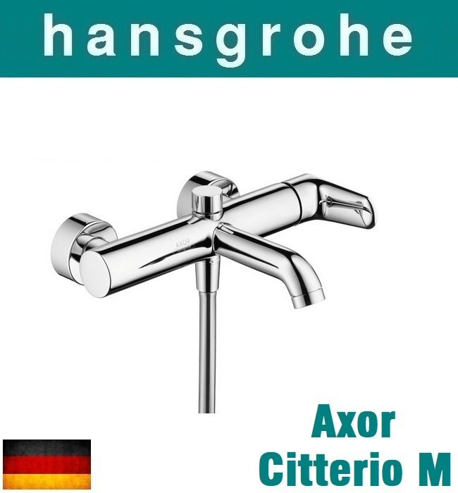 hansgrohe axor citterio m 34420000 single lever bath and shower mixer dn15 nib ebay. Black Bedroom Furniture Sets. Home Design Ideas