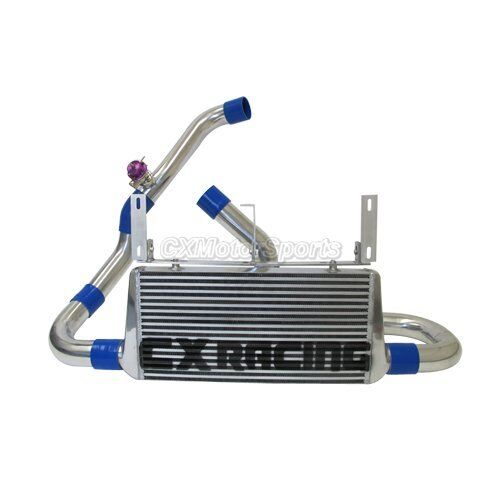 Ford Mustang Gt Supercharger Kit: CXR Intercooler Kit + Oil Cooler For 96-04 Ford Mustang 4