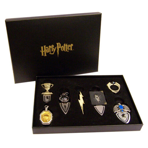 Harry Potter Book Gift Set : Harry potter gift set of horcrux bookmarks by the noble