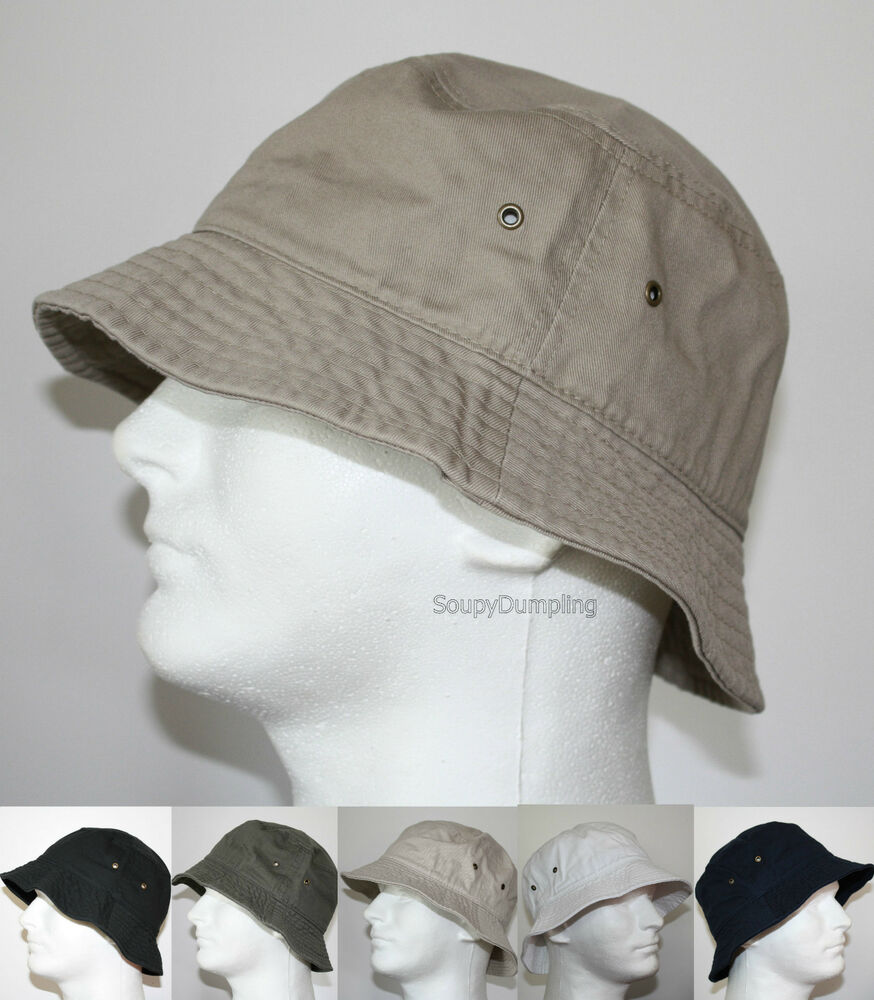 men 100 cotton fishing bucket hat cap beige black green
