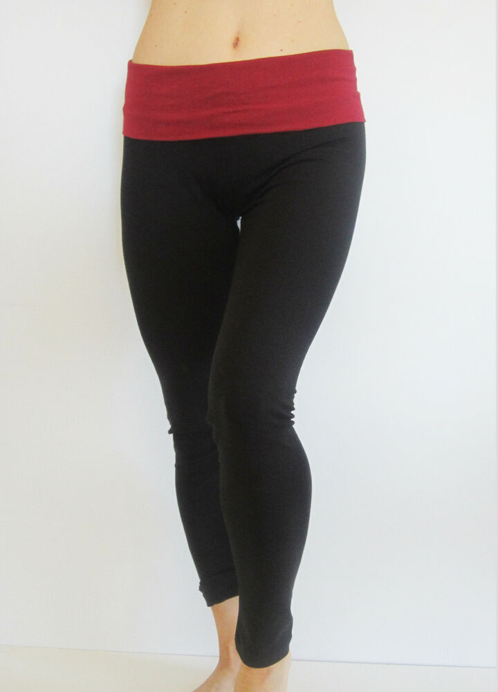 Women Skinny Yoga Gym Athletic Legging Pants With Color