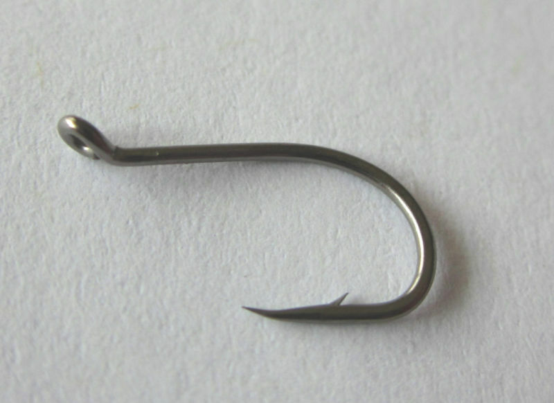 50 12 octopus hooks steelhead trout sharp size 12 ebay for Fishing hook sizes for trout