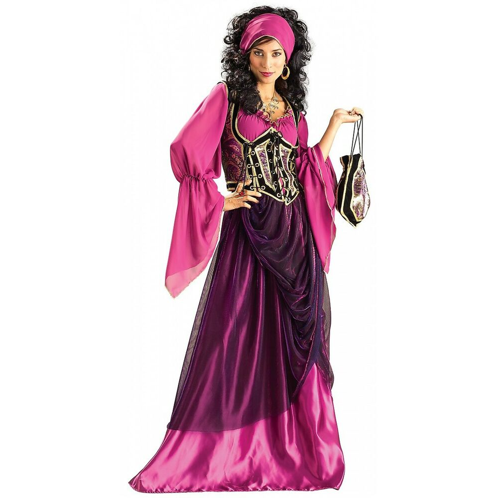 Dlx Wench Adult Grand Heritage Collection Medieval Gypsy -9772