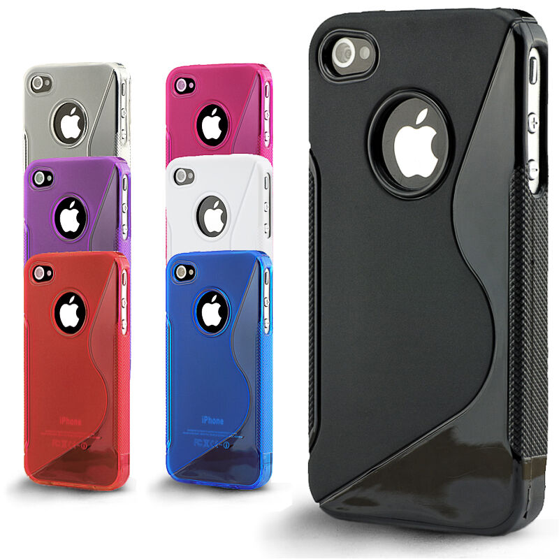 iphone 4s for sale ebay slim fit comfortable grip gel silicone tpu cover for 1102