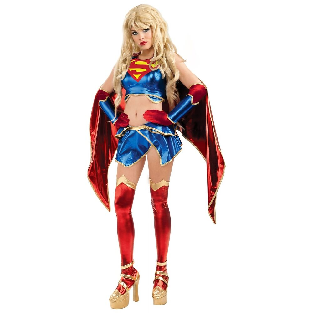 supergirl costume adult sexy superhero superwoman. Black Bedroom Furniture Sets. Home Design Ideas