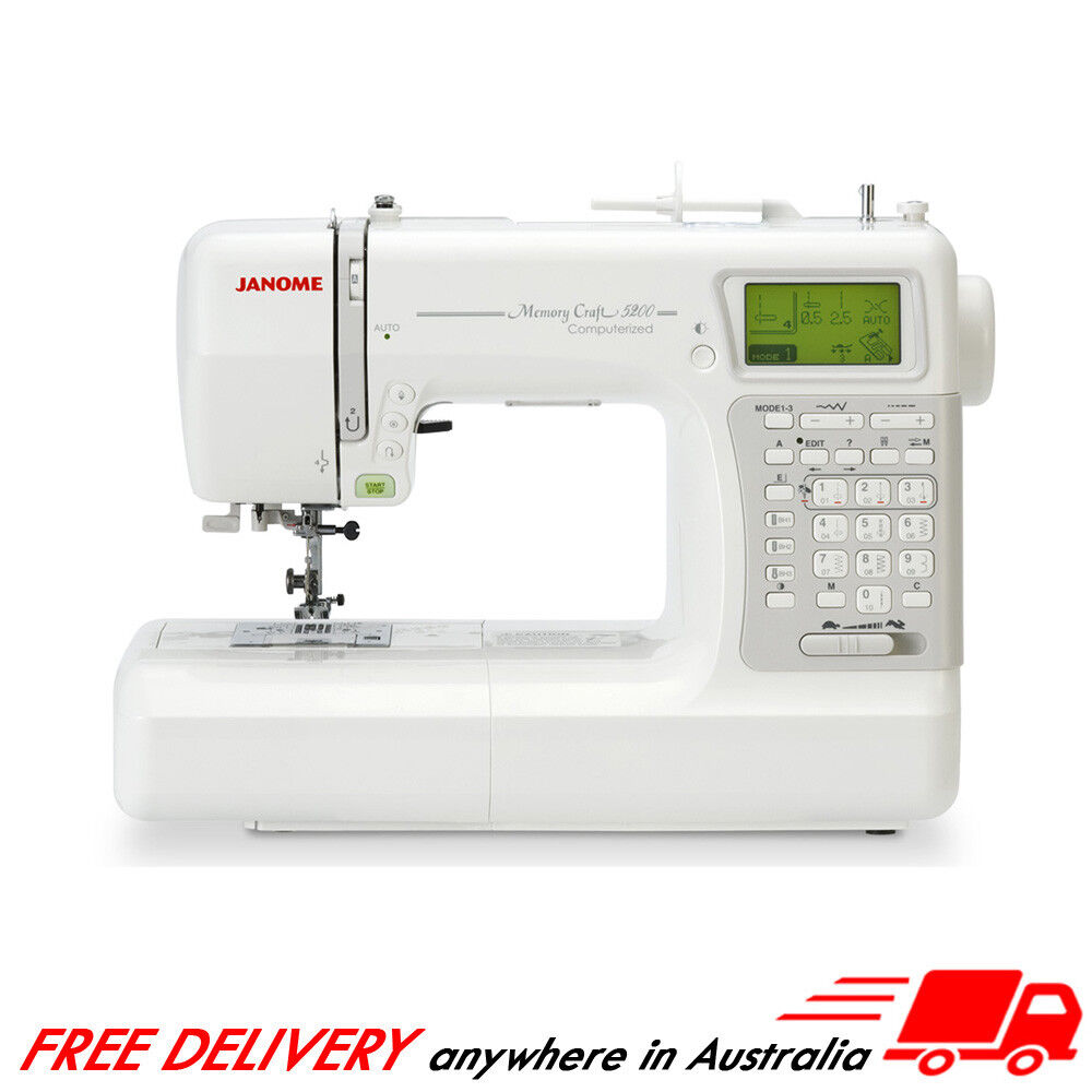 Janome Mc5200 Sewing Machine Memory Craft Quilting