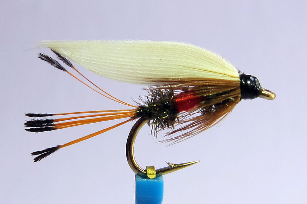 1x mouche peche noyee royal coachman h10 12 truite wet fly trout fishing mosca ebay. Black Bedroom Furniture Sets. Home Design Ideas