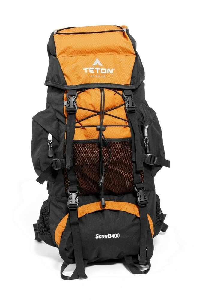 New SEALED Teton Sports Scout 3400 Internal Frame Backpack Mecca ...