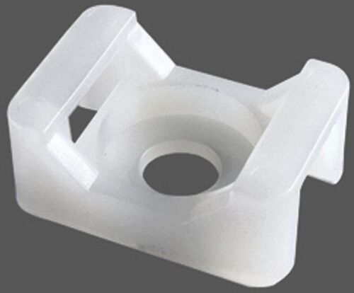 Cable Tie Screw Mount 10 Pack Up To 100 Pack 120 Lbs