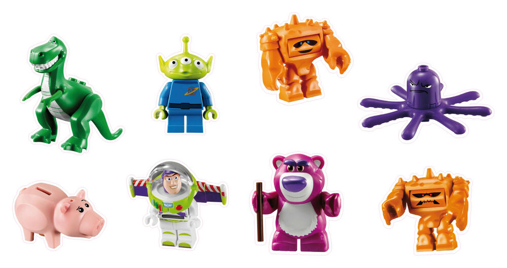 Toy Money Cut Outs : Toy story lego mini figure cut outs wall art ebay
