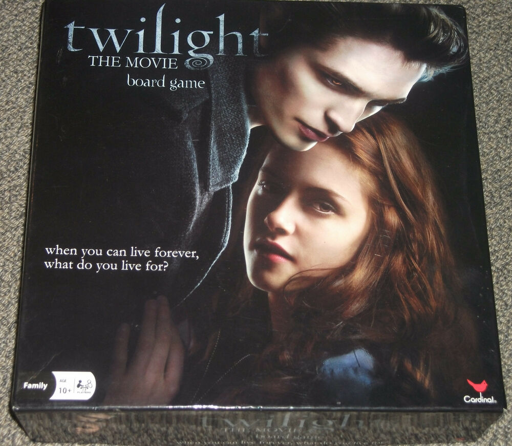 Twilight the movie board game 2009 complete vampire for New moon vampire movie
