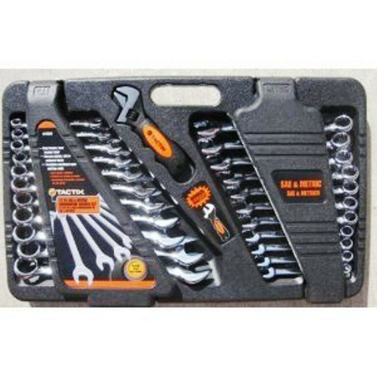 tool set 24 piece saemetric case home business wrenches auto crafts ebay. Black Bedroom Furniture Sets. Home Design Ideas