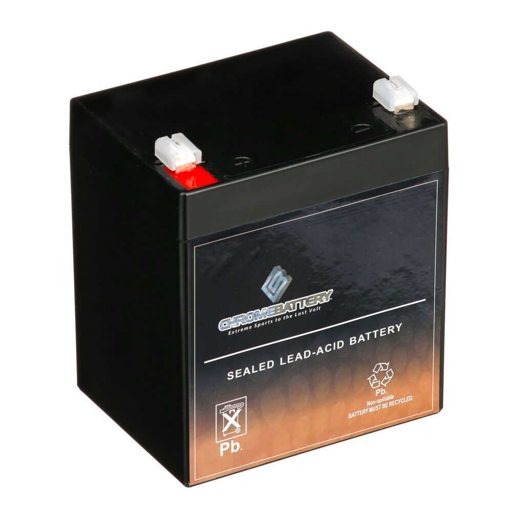 12v 4 5ah sla battery replaces np4 12 ub1245 gp1245 ps. Black Bedroom Furniture Sets. Home Design Ideas