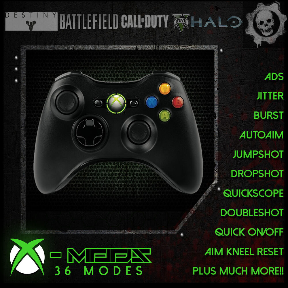 XBOX 360 RAPID FIRE CONTROLLER - BEST MOD ON EBAY!! - ALL ...Video Games Xbox 360 Bo3