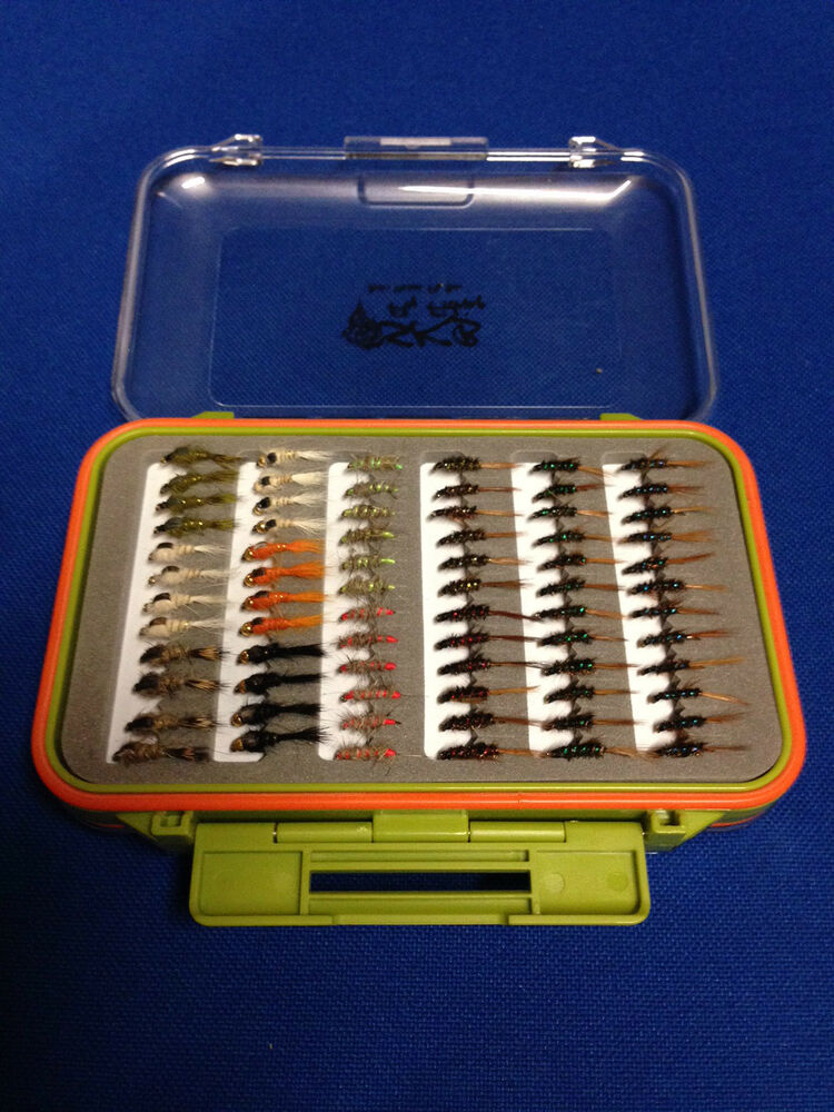 72 diawl bach hare 39 s ears in fly box trout flies fly for Fly fishing box