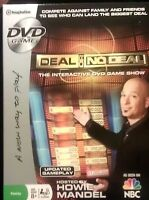 NBC Deal or No Deal DVD Interactive Family Game Show Howie Mandel NIB #D24