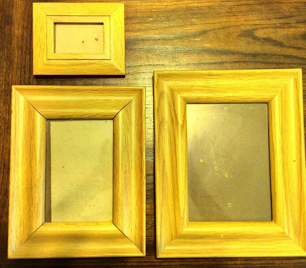 natural wooden home office photo picture frame new d10 ebay