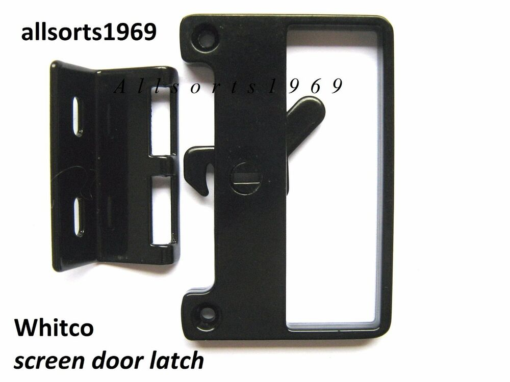 Sliding Screen Door Lock Bass Latch Amp Catch Ebay