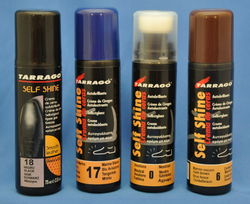 Tarrago self shine liquid shoe polish black navy dark for Top rated neutral paint colors