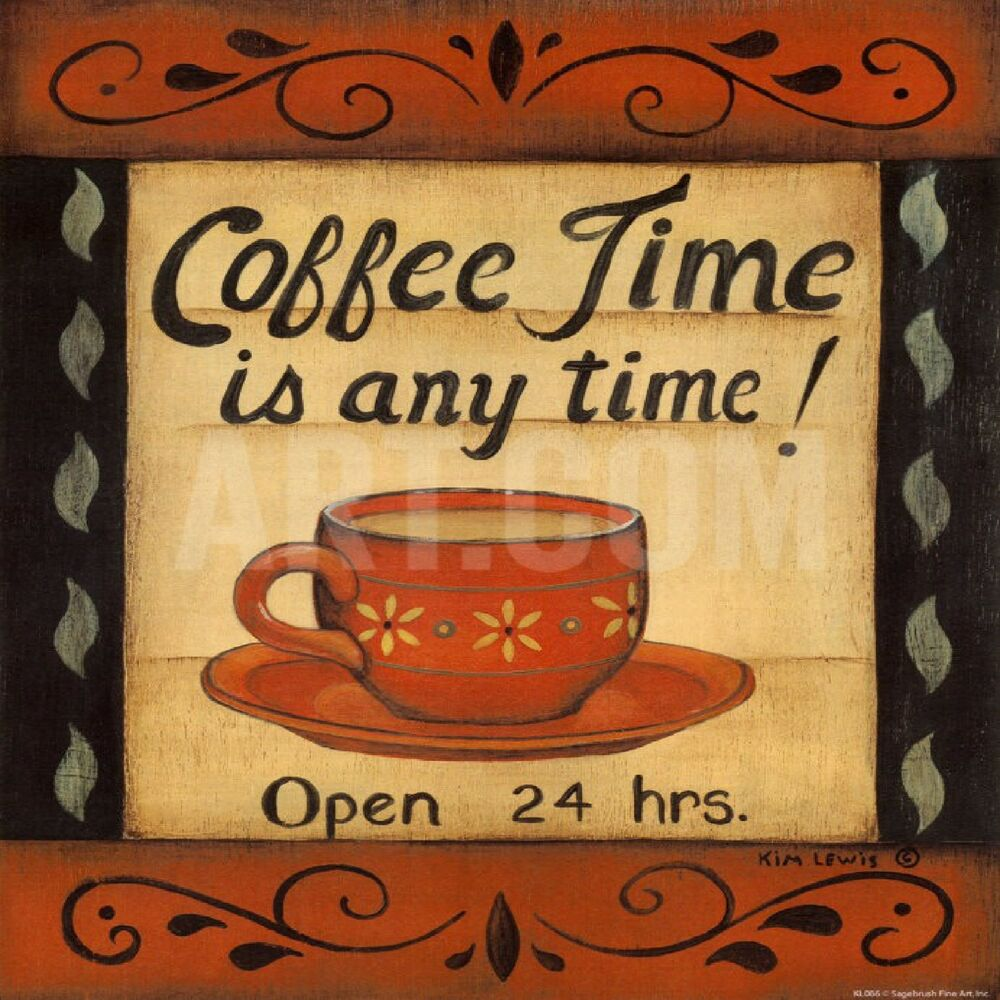 coffee themed kitchen accessories coffee time any time cafe kitchen decor theme design 5528