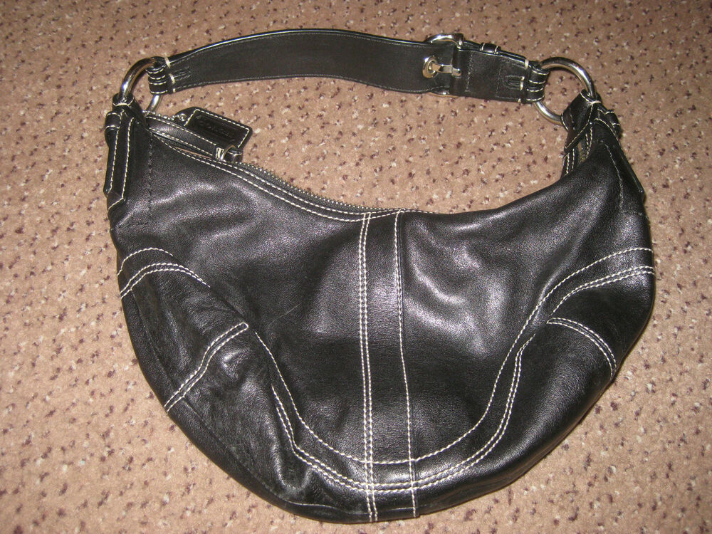 ce4296153918 Coach Black Leather Hobo Purse | Stanford Center for Opportunity ...