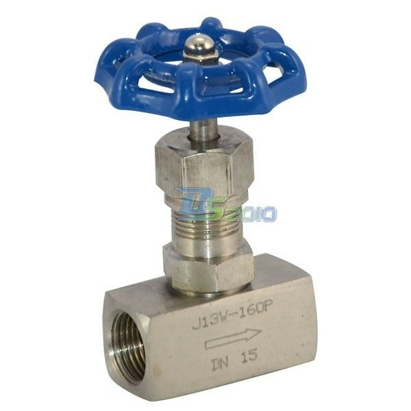 1  2 U0026quot  Dn15 Stainless Steel 304 High Pressure Needle Valve