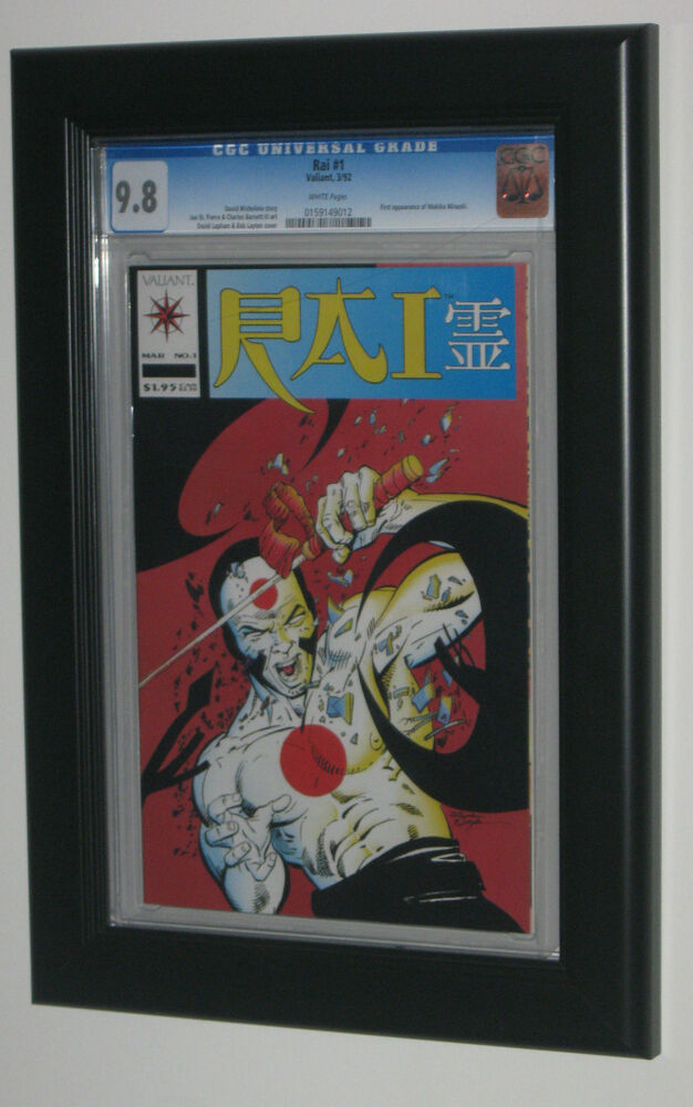 Cgc Graded Comic Book Display Frame Black Plastic Molding