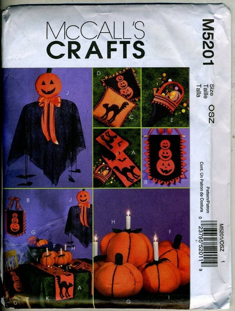 Halloween Decorations Pattern Table Runner Wall Hanging