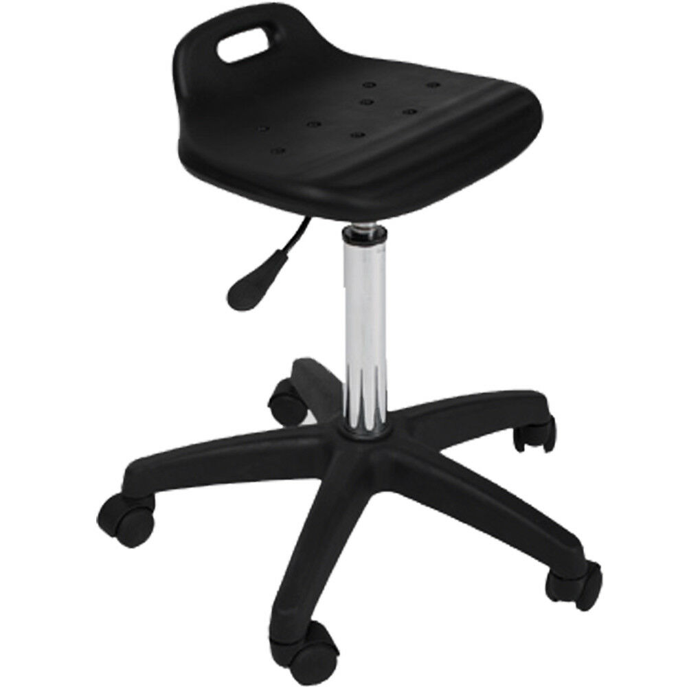 New Black All Purpose Durable Saddle Stool Tattoo Doctor