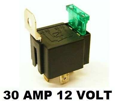 30 amp fuse on relay 4 pin spotls spot fog light ls base box holder ebay