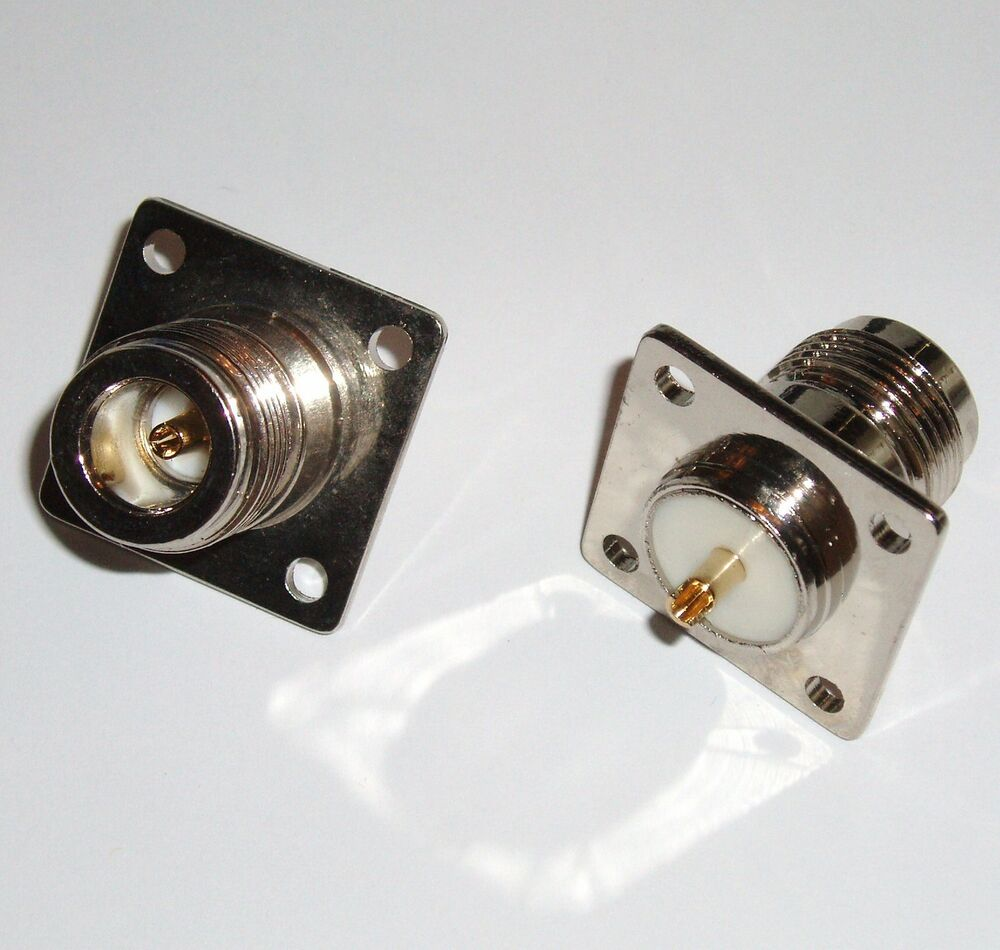 Pack n female jack chassis panel mount connectors