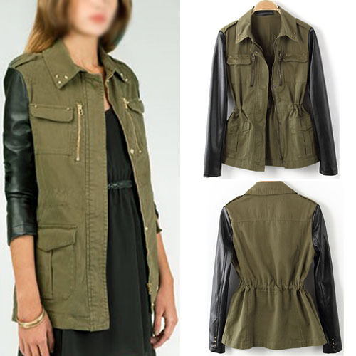 Related Searches: green military jacket, green army jacket more. Related Searches: green cargo jacket, green jacket men, green leather bomber jacket, frontal closure with zip, Best prices on Green leather jacket in Men's Jackets & Coats online. Visit Bizrate to find the best deals on top brands.