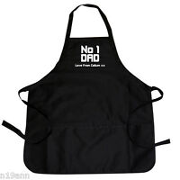 NEW PERSONALISE FAB NO 1 DAD APRON PERFECT GIFT FOR SPECIAL OCCASION