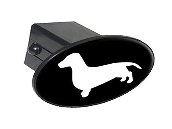 Dachshund quot tow trailer hitch cover plug insert ebay