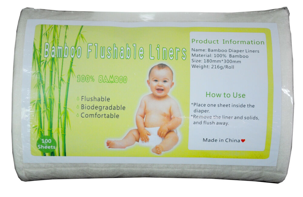 how to use flushable diaper liners