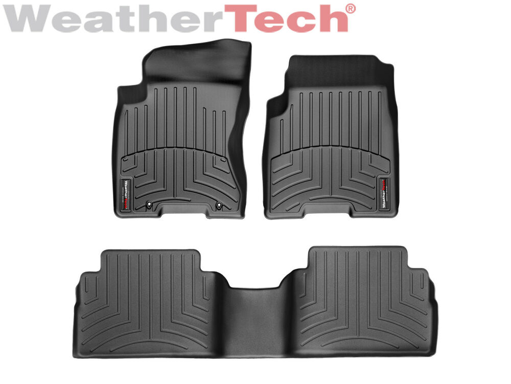 weathertech floor mats floorliner for nissan rogue 2008. Black Bedroom Furniture Sets. Home Design Ideas