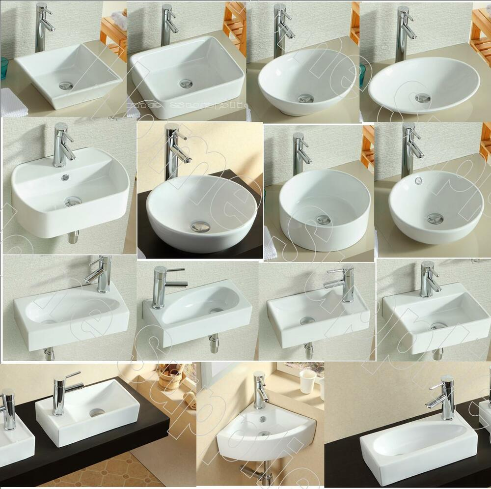 BATHROOM COUNTERTOP CERAMIC BASIN SINK eBay