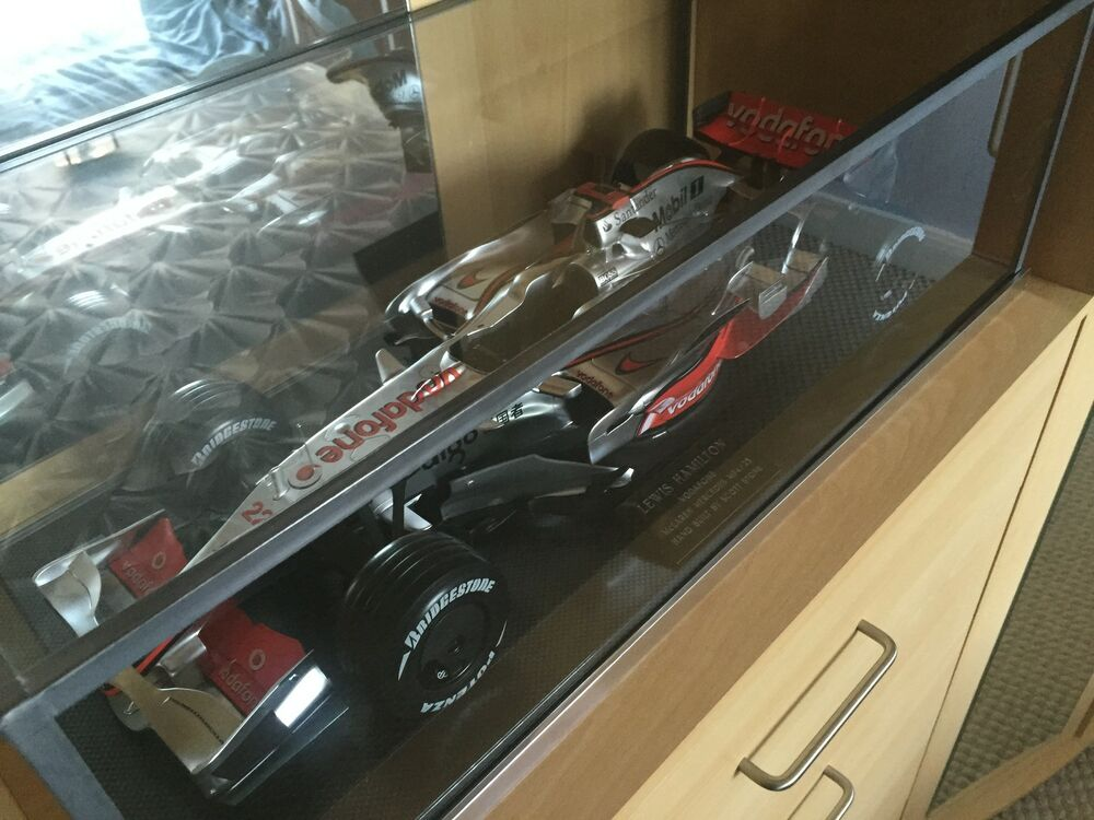 Build Your Own Car Kit >> 1:8th McLAREN MP4/23 - MP4/4 DEAGOSTINI BUILD YOUR OWN - GLASS DISPLAY CASE ONLY | eBay