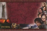 LORD OF THE RINGS MOVIE POSTER ~ TWO TOWERS MIDDLE EARTH MAP 25x36 Cast Frodo