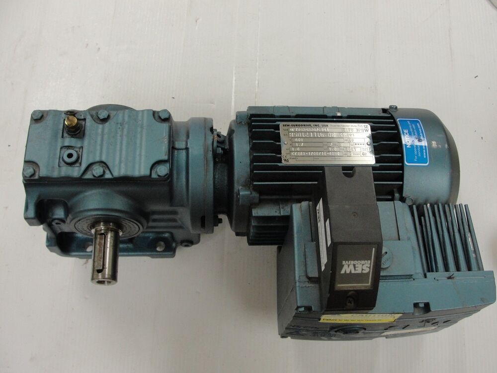Sew Eurodrive S47dt80n4hh07cbw1 Gearbox With