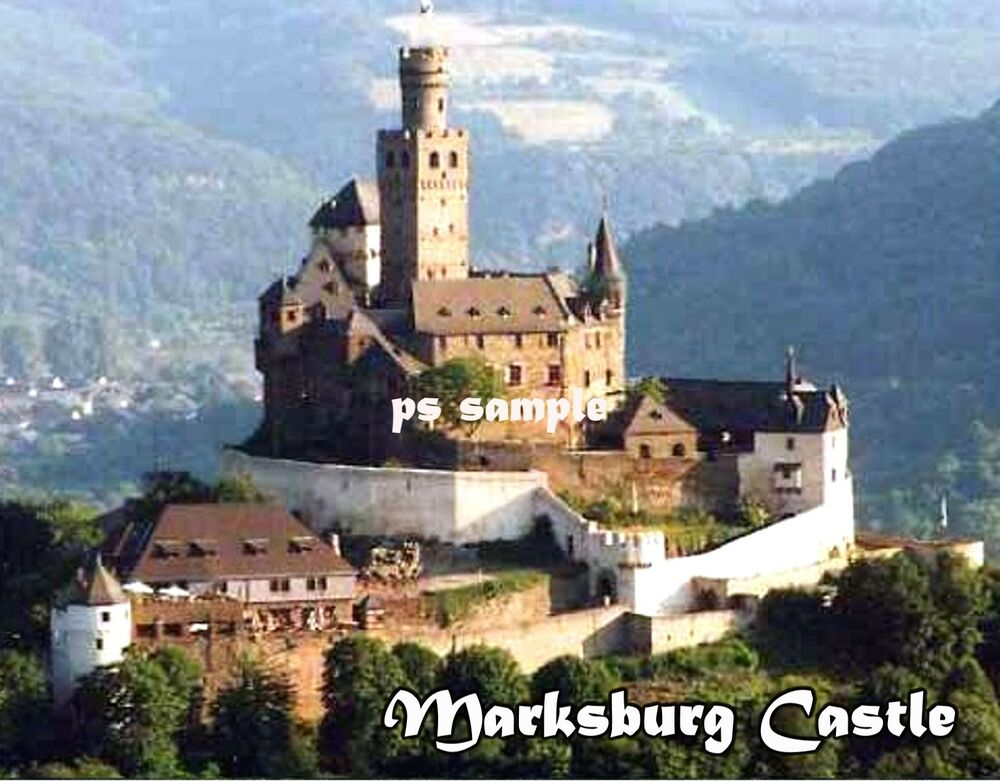 germany marksburg castle travel souvenir flexible fridge magnet ebay. Black Bedroom Furniture Sets. Home Design Ideas