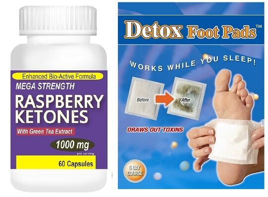 1000mg pure raspberry ketones pills detox colon cleanse weight loss foot patch ebay. Black Bedroom Furniture Sets. Home Design Ideas