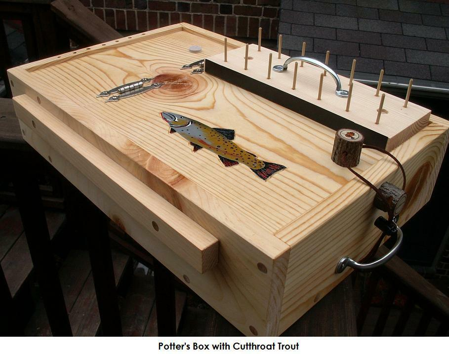 portable fly tying box desks benches tables you