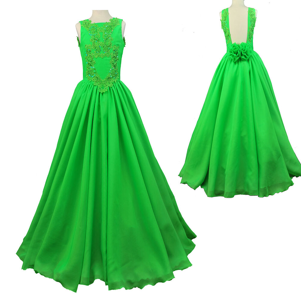 New girls children national pageant glitz dress formal for Wedding party dresses for women